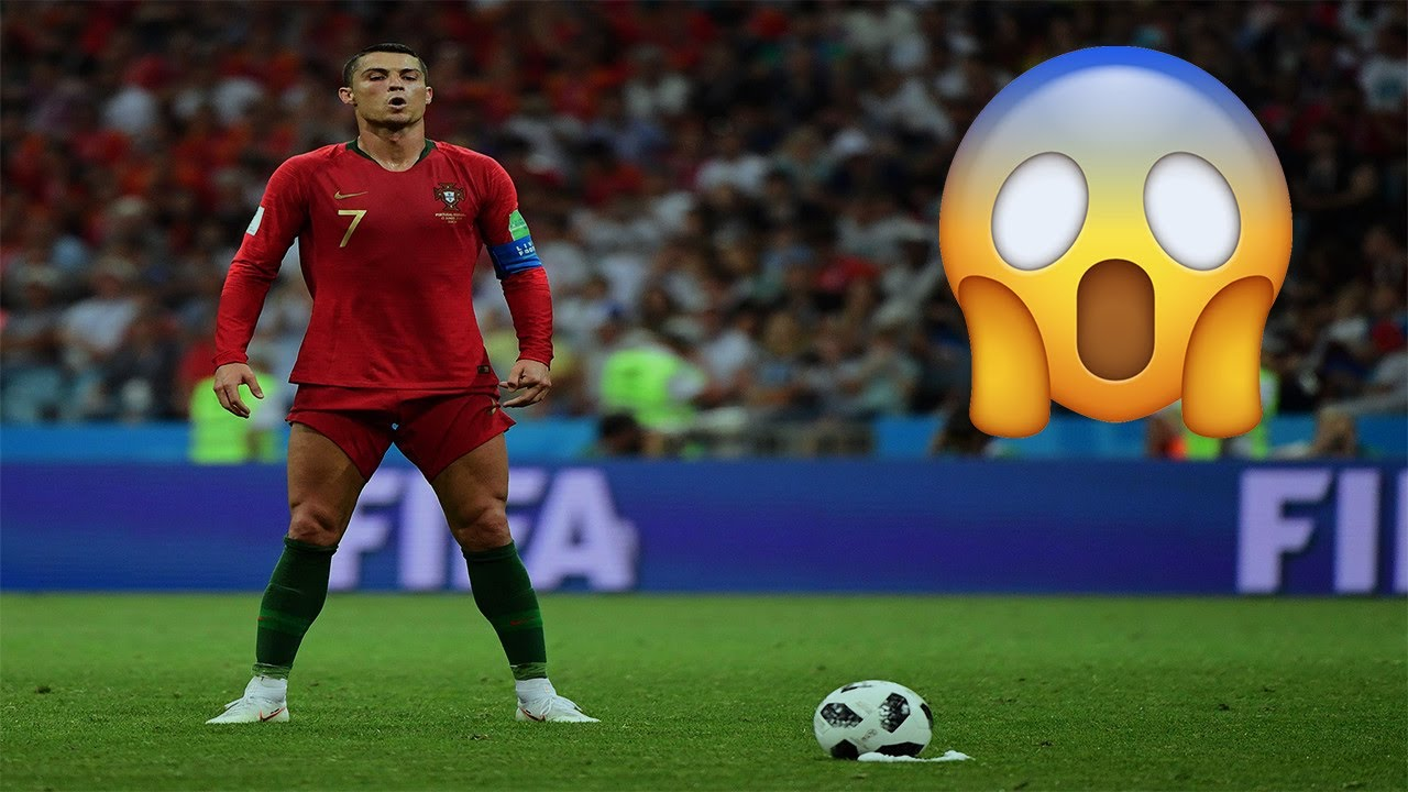 The Day Ronaldo Scored Free Kick & Saved His Team in the Last Minutes - Unbelievable