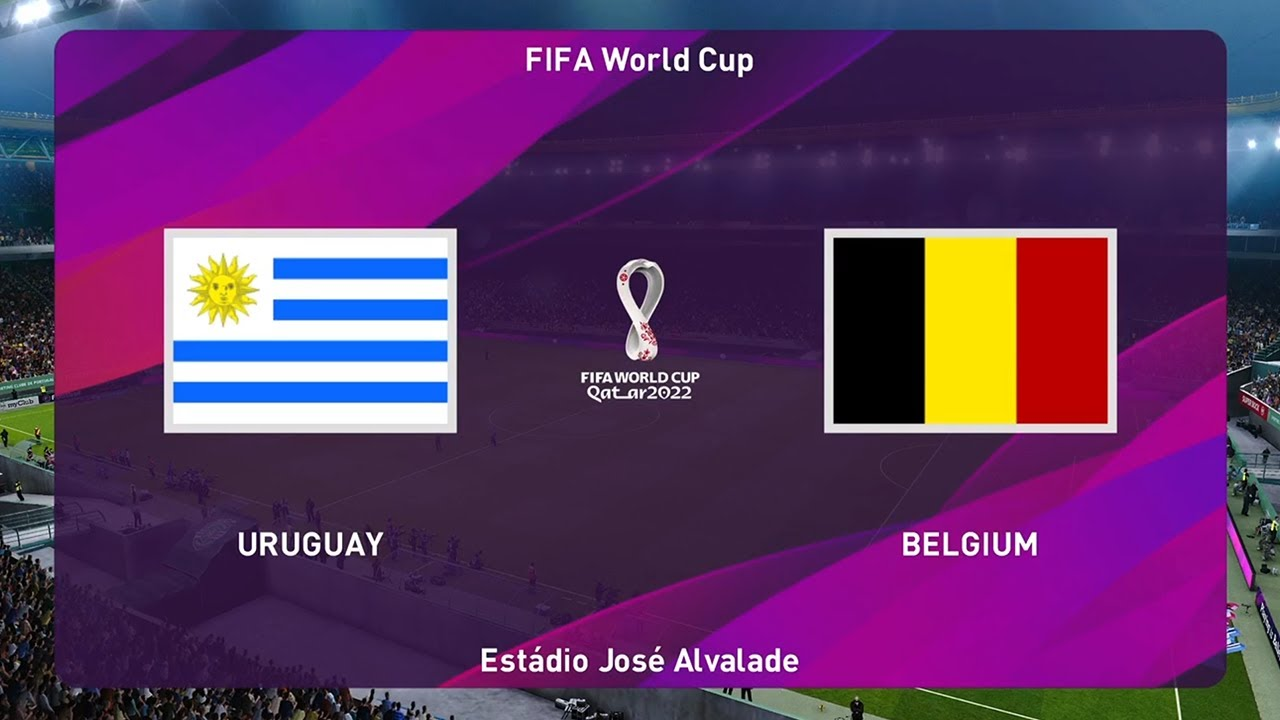 PES 2020 | URUGUAY VS BELGIUM - World Cup 2022 Final
