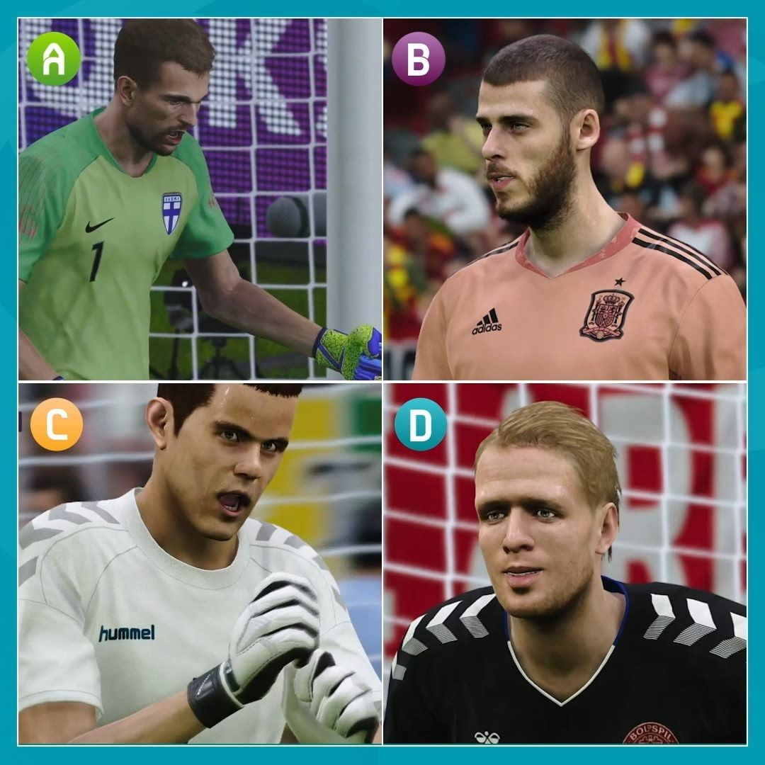 Best save: A, B, C or D?    second legs coming Monday! ...