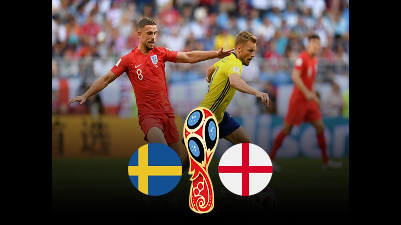 Sweden vs England 2018 FIFA World Cup Russia Match 60