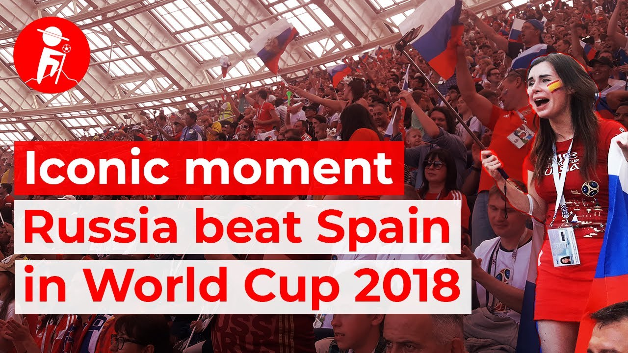 Perfect fan footage: Russia pull off miracle upset, beat Spain | Russia vs Spain World Cup 2018