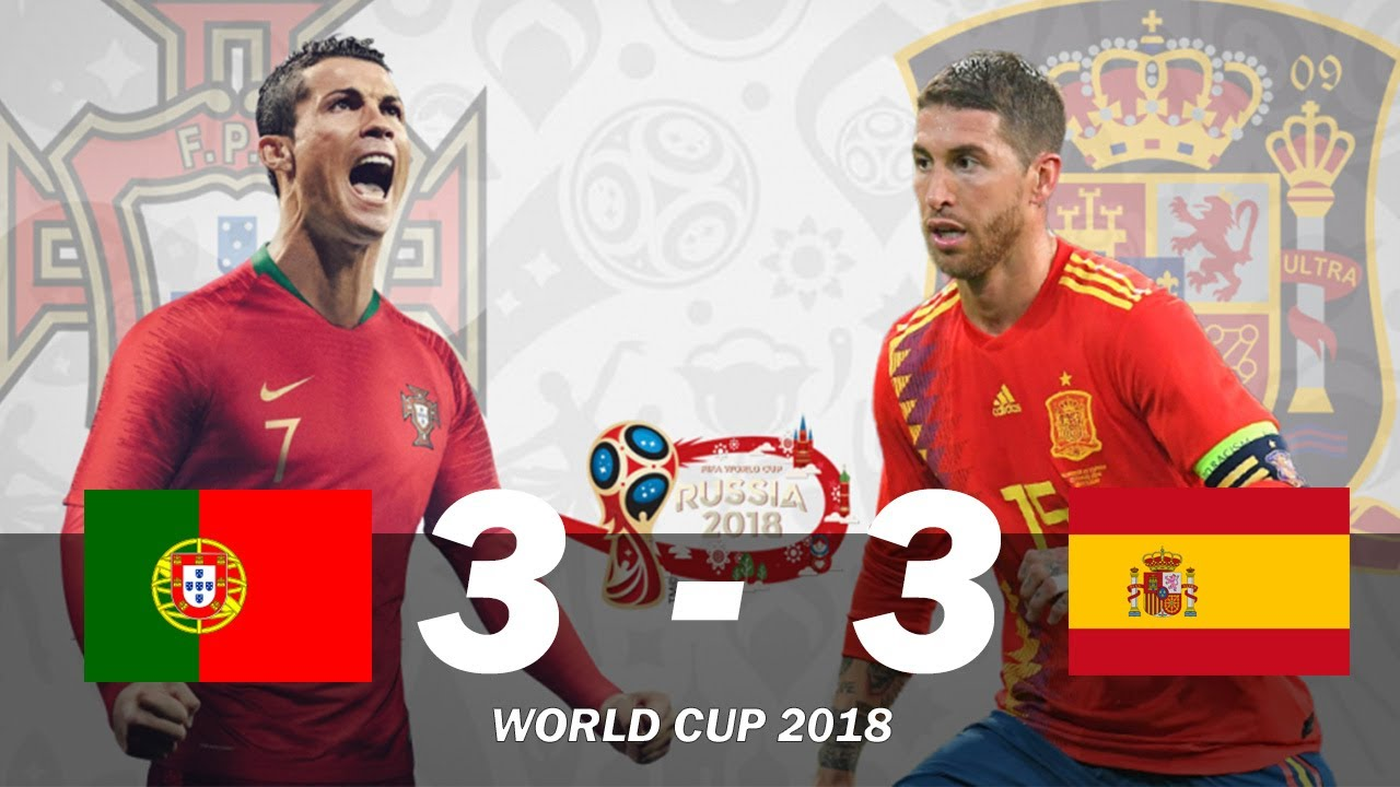 Cristiano Ronaldo Hits Hat-trick as Portugal Deny Spain In Six-Goal Thriller World Cup 2018