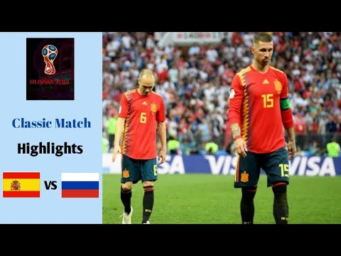 Spain vs Rusia 1-1 (Pen.3-4)   FIFA World Cup 2018   Highlights   Classic Match