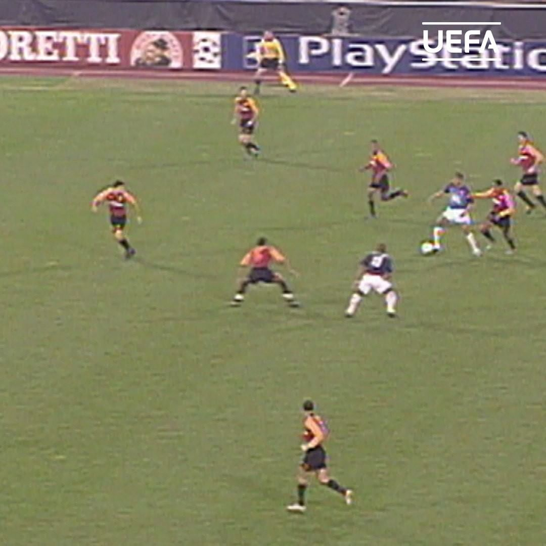in 2002, Thierry Henry hat-trick in Rome!     ...