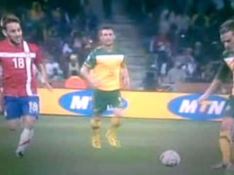 Australia - Serbia Second Goal FIFA World Cup 2010