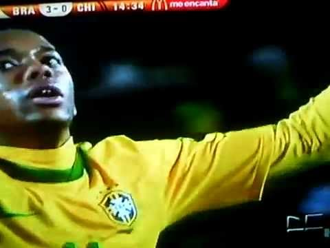 Brazil vs Chile (3-0) 2nd Half Goal-FIFA World Cup 2010