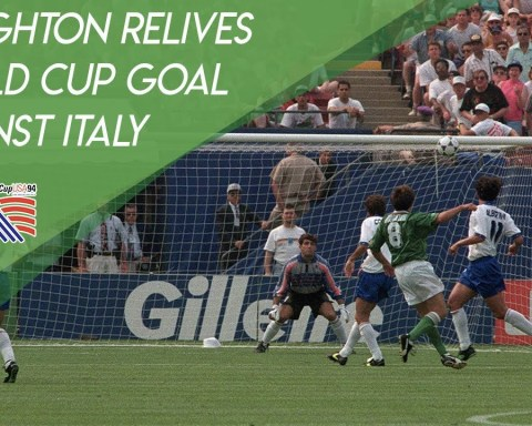Ray Houghton relives World Cup goal against Italy