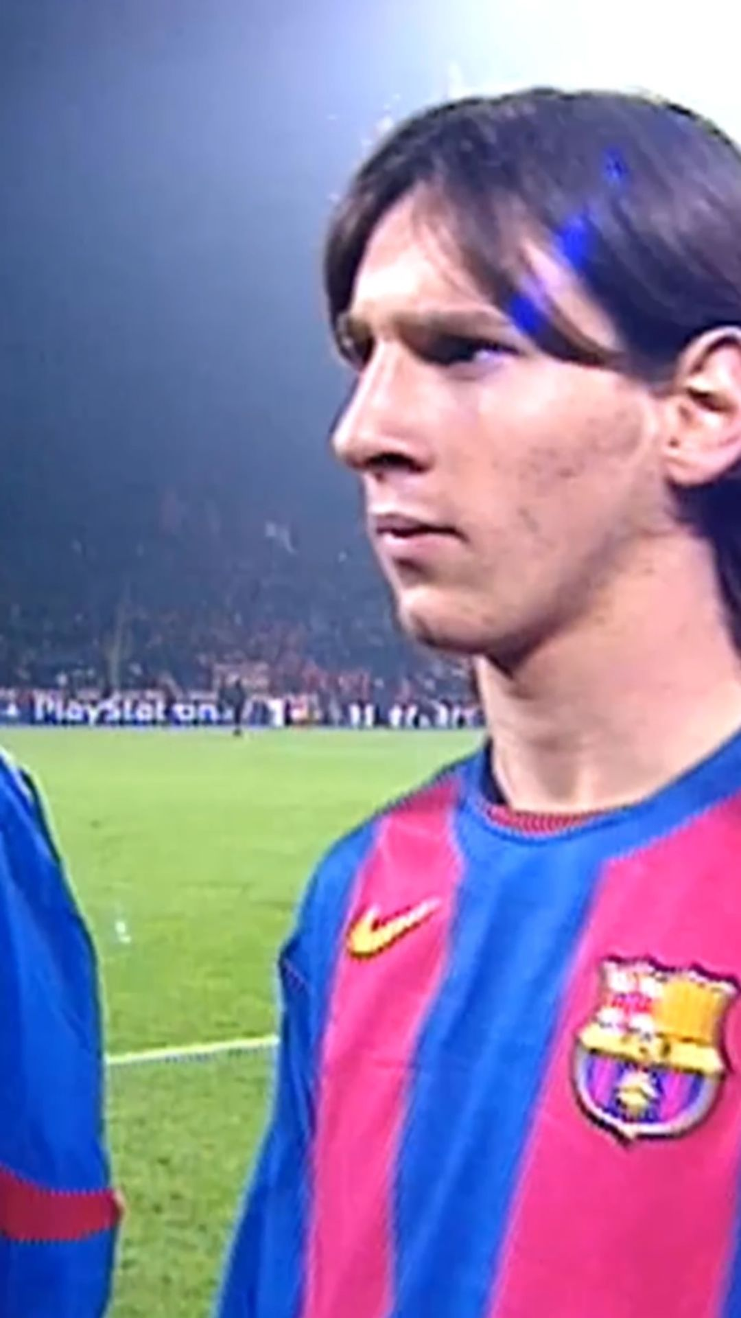 Leo Messi made his  debut 16 years ago today. The start of something special   ...