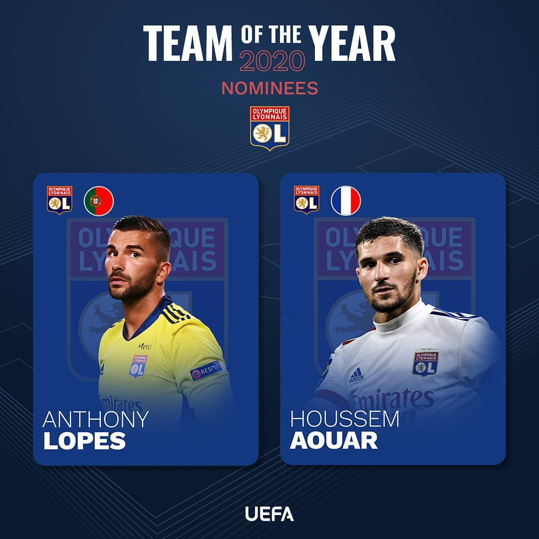 Lyon = Ligue 1 leaders...  stars in your    LINK IN BIO ...