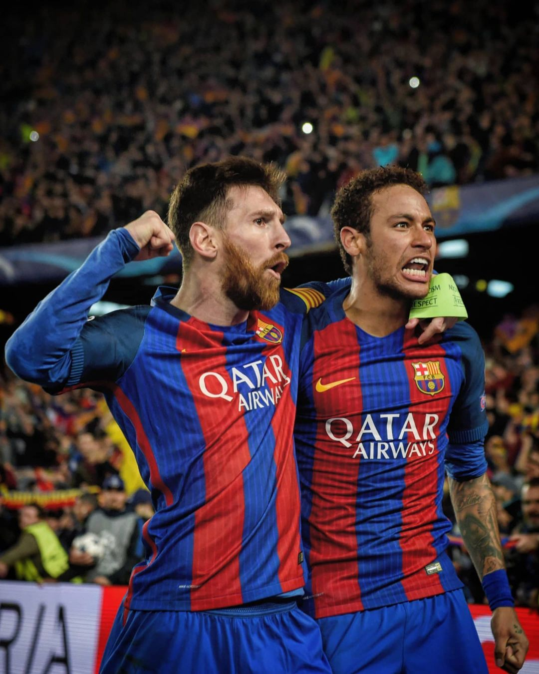 Messi  Neymar  Who's coming out on top?     ...