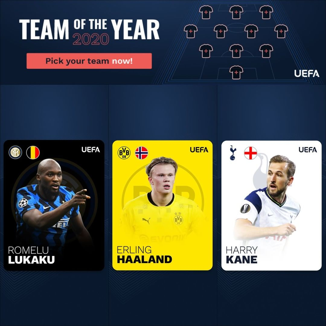 Romelu Lukaku, Erling Haaland or Harry Kane: who will get the MOST Team of the ...