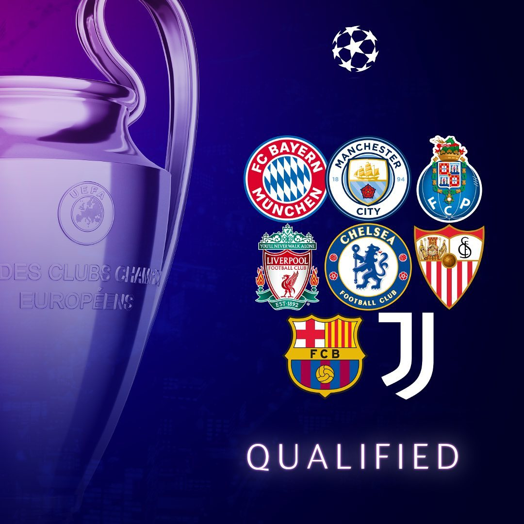 The last 16 is taking shape... Strongest qualified side?   ...