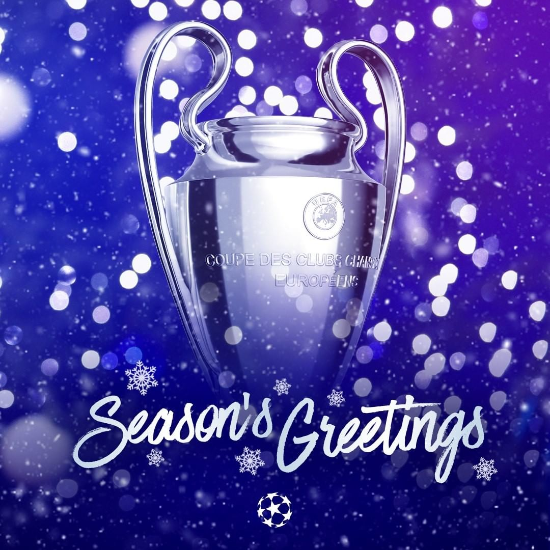 Wishing you the very best of the season, from the   Did you get any football gi...