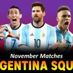 Argentina Squad for FIFA World Cup 2022 Qualifiers ? Argentina Full Squad November Matches 2020
