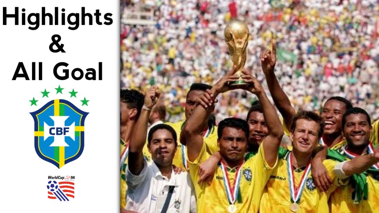 Brazil in Fifa World Cup 94 | Highlights & All goal | Road To Champions