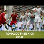 CRISTIANO 2018 FIFA WORLD CUP FREEKICK GOAL