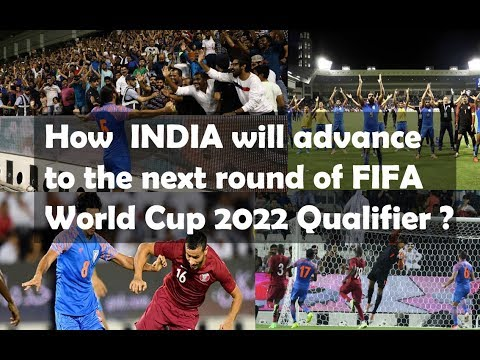 Chance of India to Qualify to the next round | FIFA World Cup 2022 Qualifiers