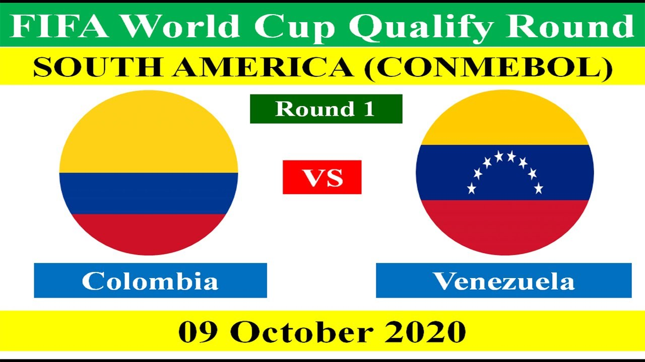 Colombia vs Venezuela - FIFA World Cup 2022 Qualifying Match - 09 October 2020.