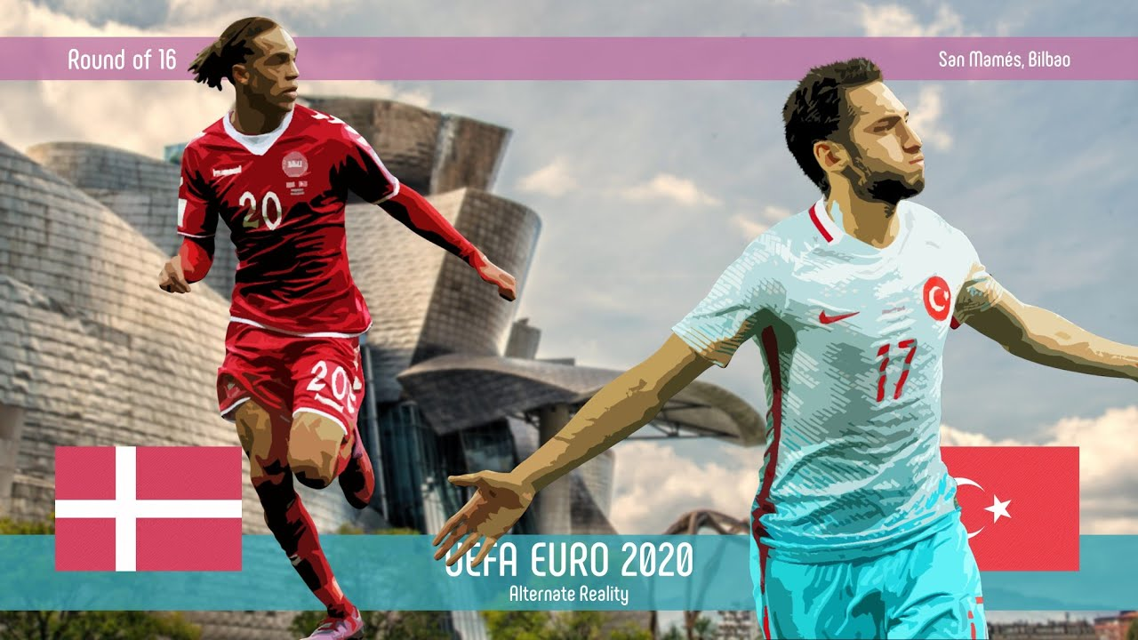 Denmark v Turkey | Round of 16 | UEFA EURO 2020 | Alternate Reality