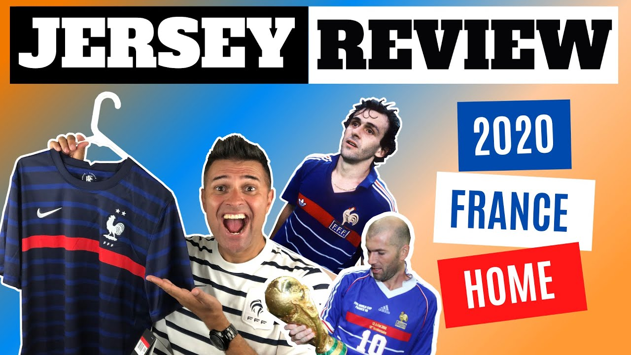 LES BLEUS UEFA EURO 2020! Check out the 2020 NEW NIKE France Home Jersey - Review
