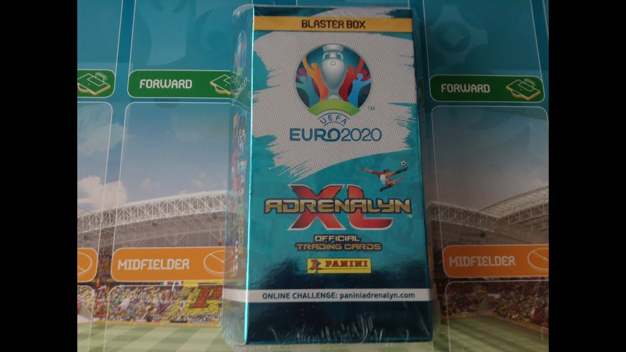 ***NEW FIRST LOOK*** PANINI AXL EURO 2020 BLASTER BOX/5 NEW LE CARDS