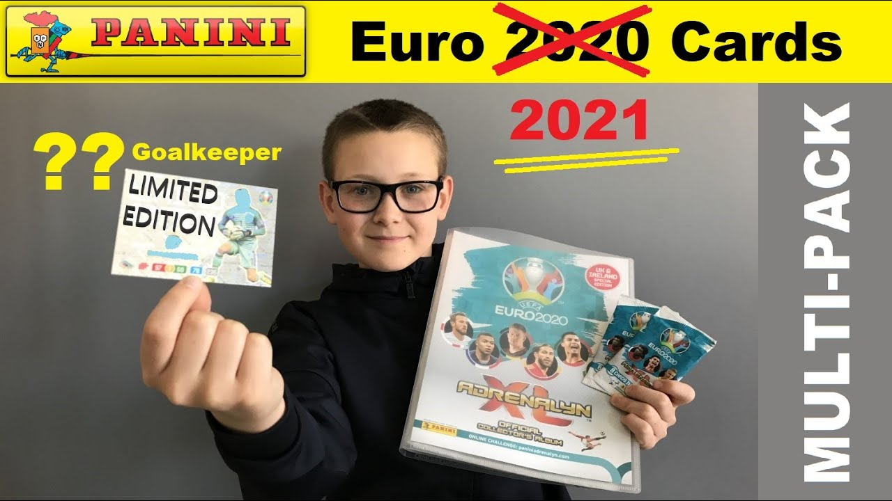 Opening a Panini Uefa Euro 2020 (or is it Euro 2021?!) Multi Pack with Limited Edition Player