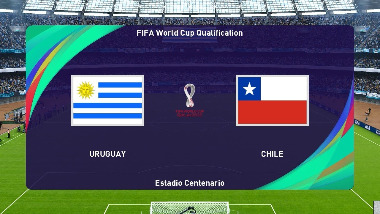 PES 2021 | URUGUAY vs CHILE | FIFA World Cup 2022 Qualification | Gameplay PC