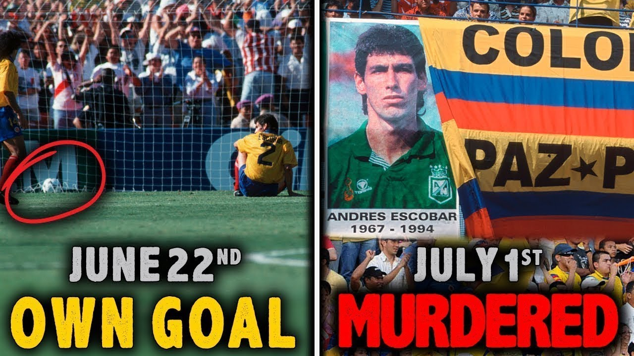 Player was MURDERED for OWN GOAL | Colombia vs USA|WC 1994
