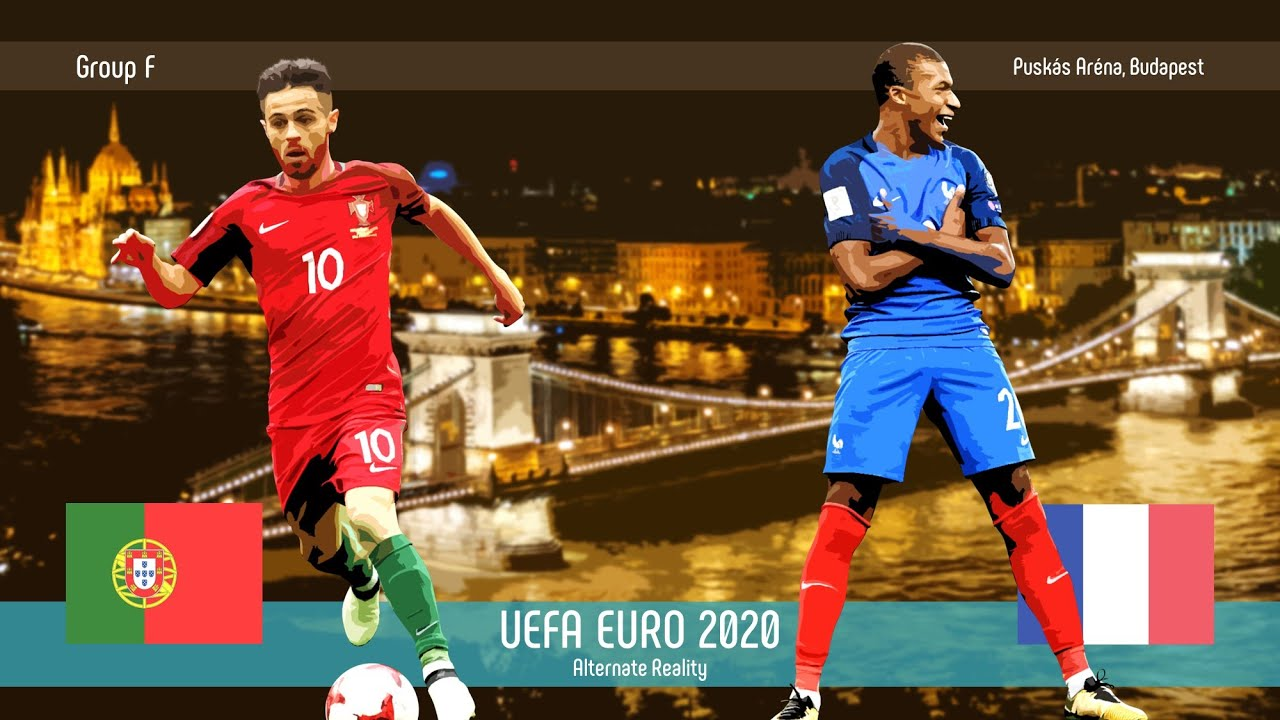 Portugal v France | Group F | UEFA EURO 2020 | Alternate Reality