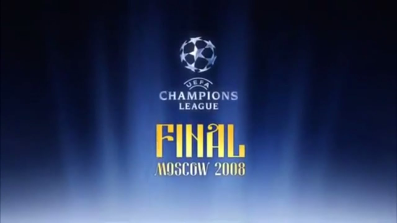 UEFA Champions League 2007/2008 Moscow Final intro