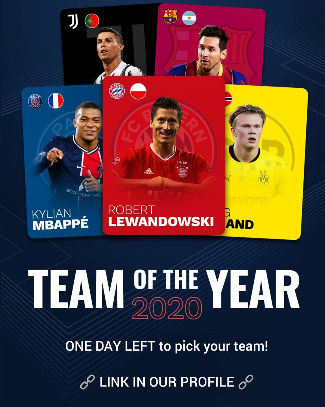 Have you picked your team of 2020 yet?  ...