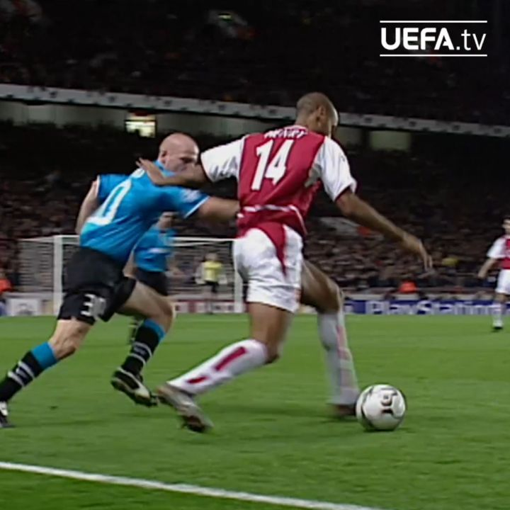 Thierry Henry gliding past challenges     ...