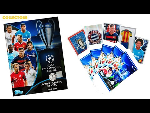 2015-16 UEFA CHAMPIONS LEAGUE - UNPACKING STICKERS