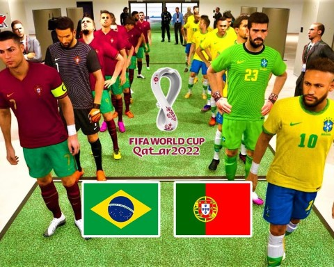 BRAZIL vs PORTUGAL | FIFA World Cup 2022 Final | PES 2021 Gameplay PC
