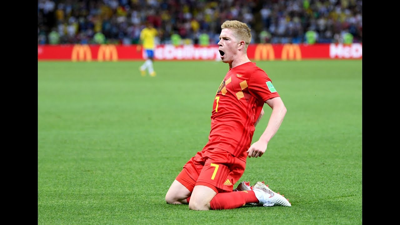DE BRYUNE UNBELIEVABLE  GOAL...! BELGIUM VS BRAZIL 2-0.. FIFA WORLD CUP 2018...