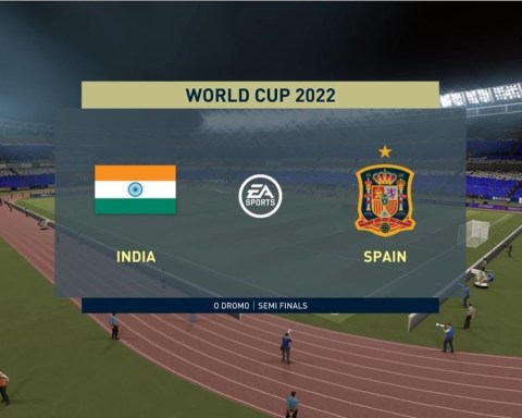 FIFA World cup 2022 - INDIA vs Spain : FIFA 21 Full Match #SemiFinal
