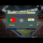 FIFA World cup 2022 - PORTUGAL vs INDIA : FIFA 21 Full Match #QuarterFinal