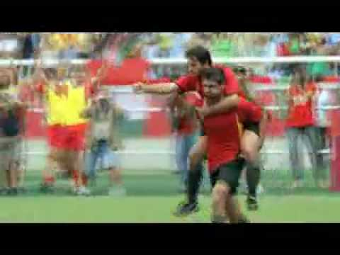 """Fifa world cup 2010 """"history of goal celebration"""" tv commercial"""