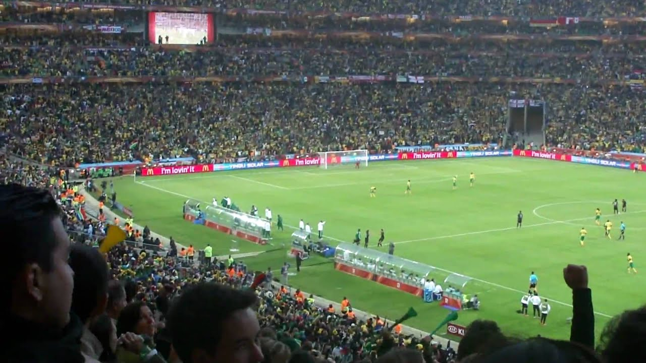 First Goal of FIFA World Cup 2010 - Sony HX5v