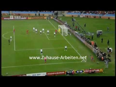 Germany vs Spain - The Goal - Fifa World Cup 2010 - 07/07/10 High Quality
