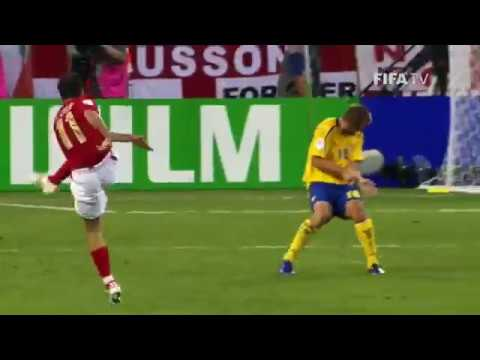 Joe Cole Volley goal against Sweden at the 2006 FIFA Worldcup | Skills | Goals | Tricks |HD|