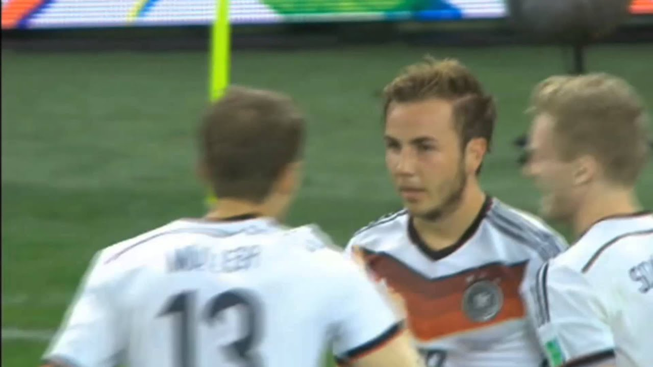 Mario Gotze goal on FIFA World Cup 2014 final