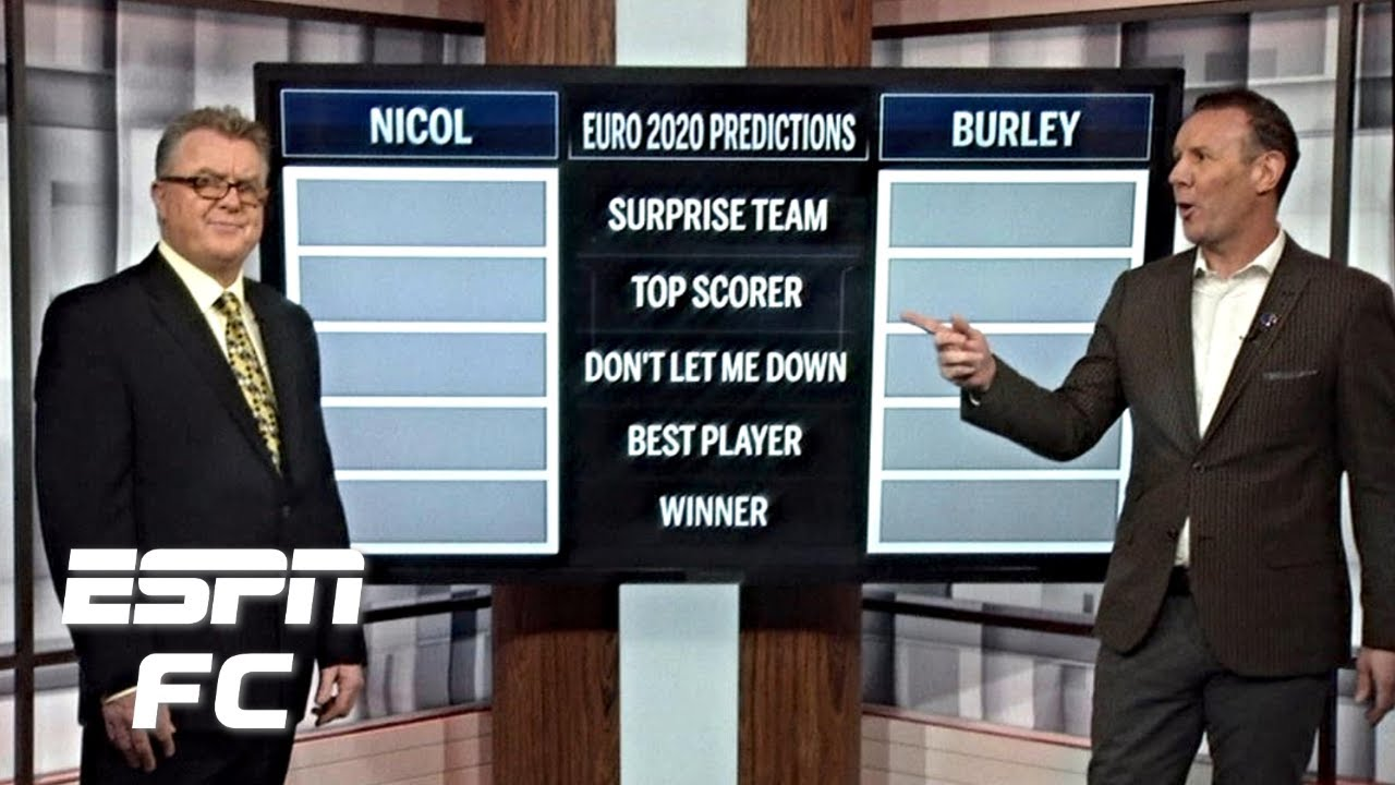 Way too early Euro 2020 predictions! Winners, top scorer, surprise team & more | ESPN FC