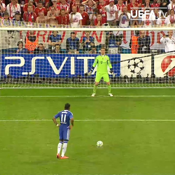 2012 final penalty shoot-out.... Did you back  OR  ?   ...