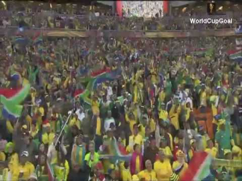 S,Africa Vs Mexico [1-0] First Goal In 2010 FIFA WC [Tshabalala]