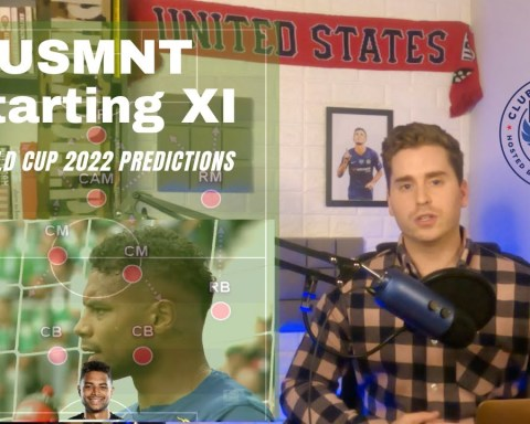 USMNT Starting 11 -  World Cup 2022 Predictions