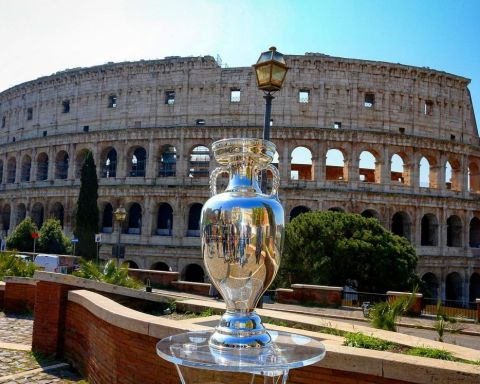 The trophy is in Rome!     ...