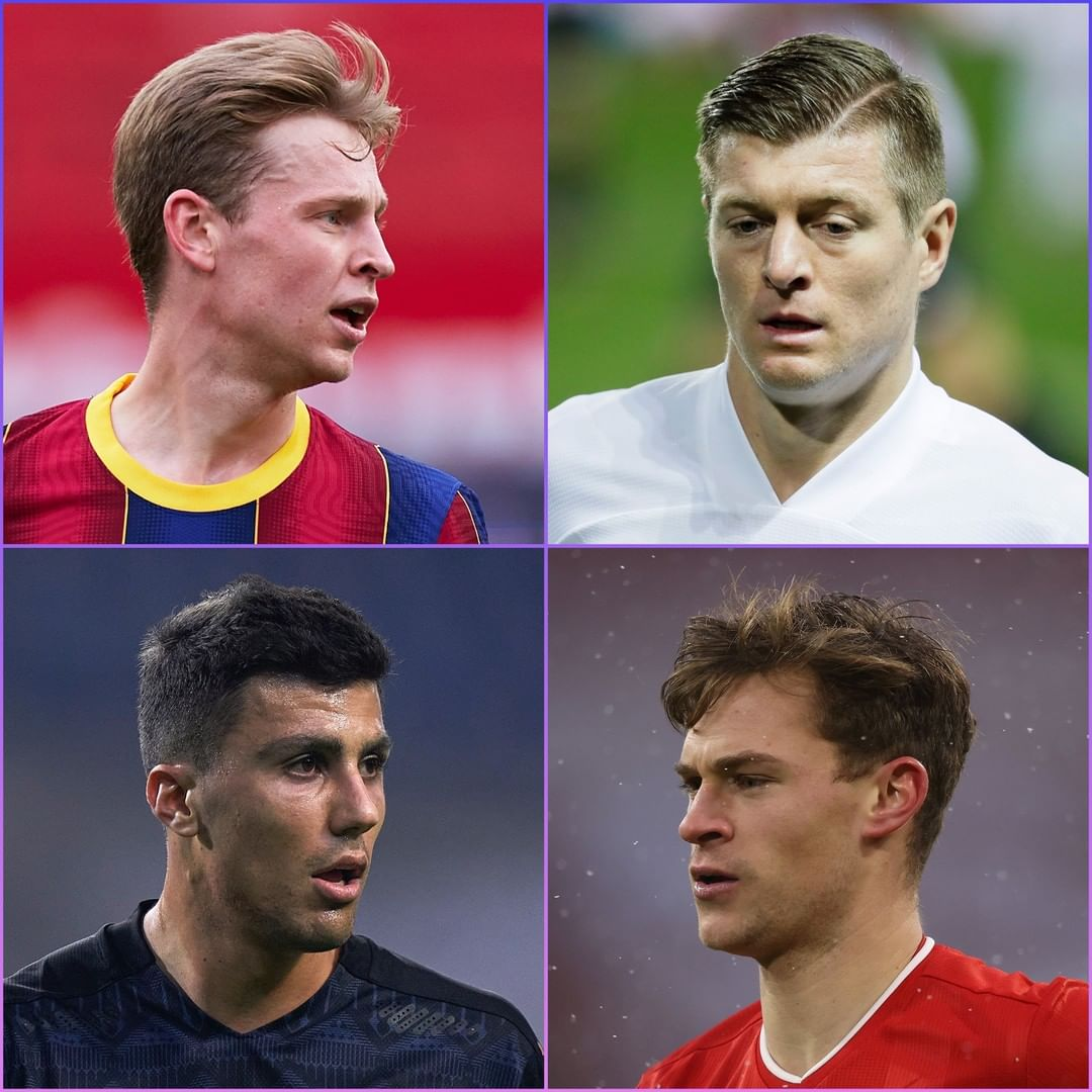 Your team need to keep the ball  Who do you want in possession?   1& Frenkie de ...