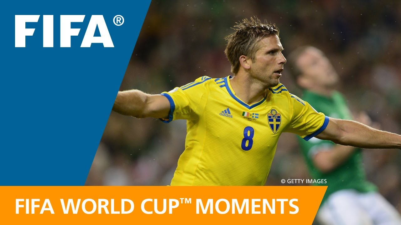 Anders Svensson on goal vs Argentina | FIFA World Cup