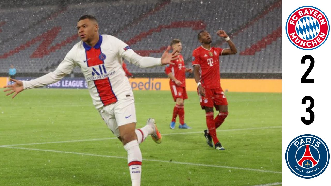 Bayern Munich vs PSG 2-3 Extended Highlight and Goals UEFA Champions League 08/04/2021